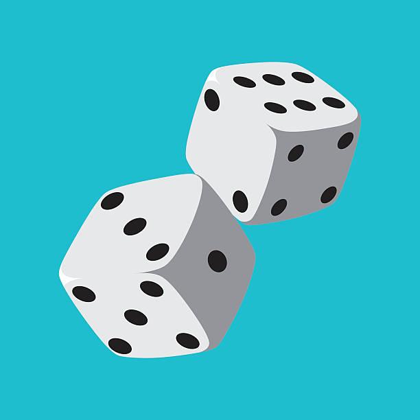illustrazioni stock, clip art, cartoni animati e icone di tendenza di dado - gioco dei dadi