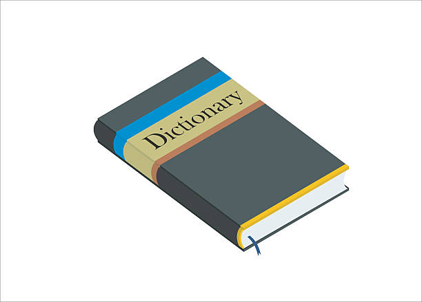 dictionary simple illustration simple illustration of a dictionary dictionary stock illustrations