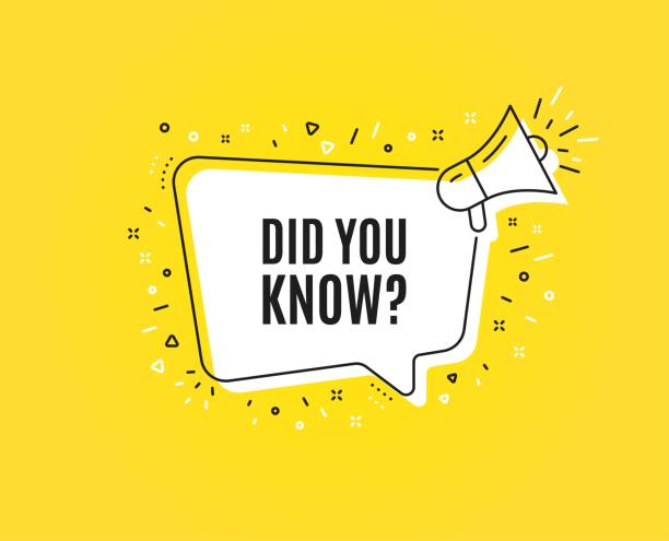 Did you know symbol. Special offer question sign. Vector Did you know. Megaphone banner. Special offer question sign. Interesting facts symbol. Loudspeaker with speech bubble. Did you know sign. Marketing and advertising tag. Vector diad stock illustrations