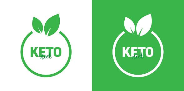 KETO Diet Badge Design
