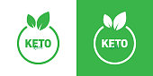 KETO Diet Badge Design - Two Different Style