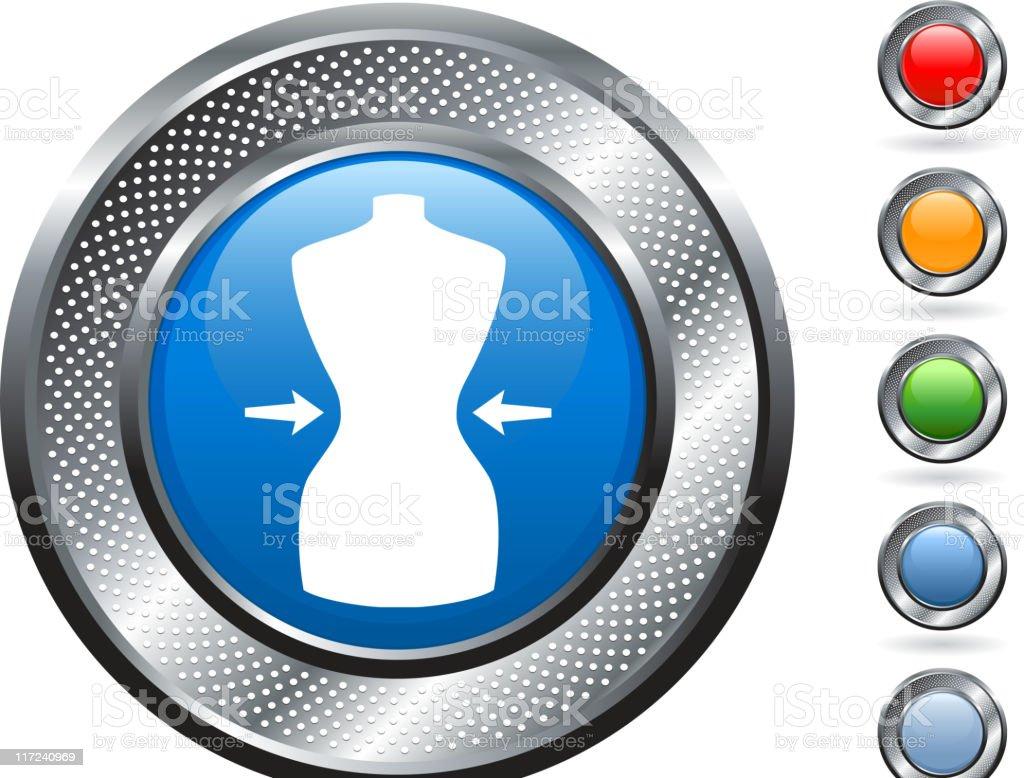 Diet royalty free vector art on metallic button royalty-free diet royalty free vector art on metallic button stock vector art & more images of arrow symbol