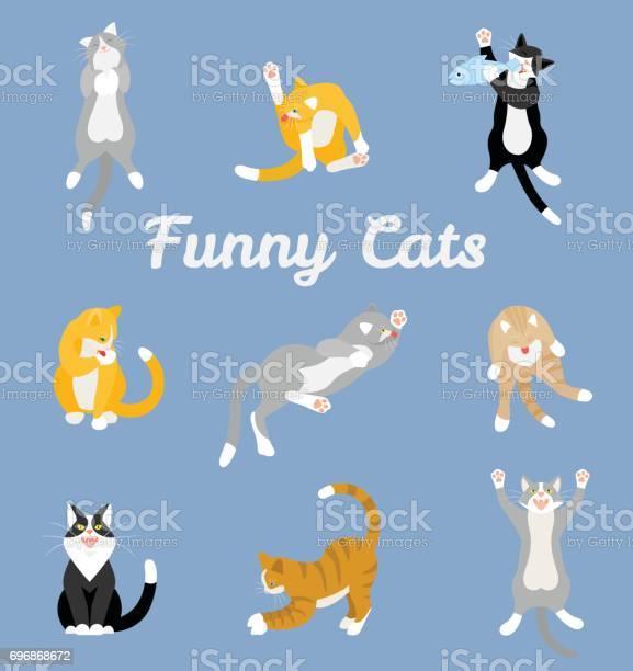 Different cartoon cats set vector id696868672?b=1&k=6&m=696868672&s=612x612&h=qz5xghwyra4f3t4bc9mgu6rslanqmbe3nnkfouysmj8=
