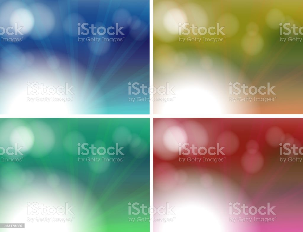 Different color combinations royalty-free stock vector art