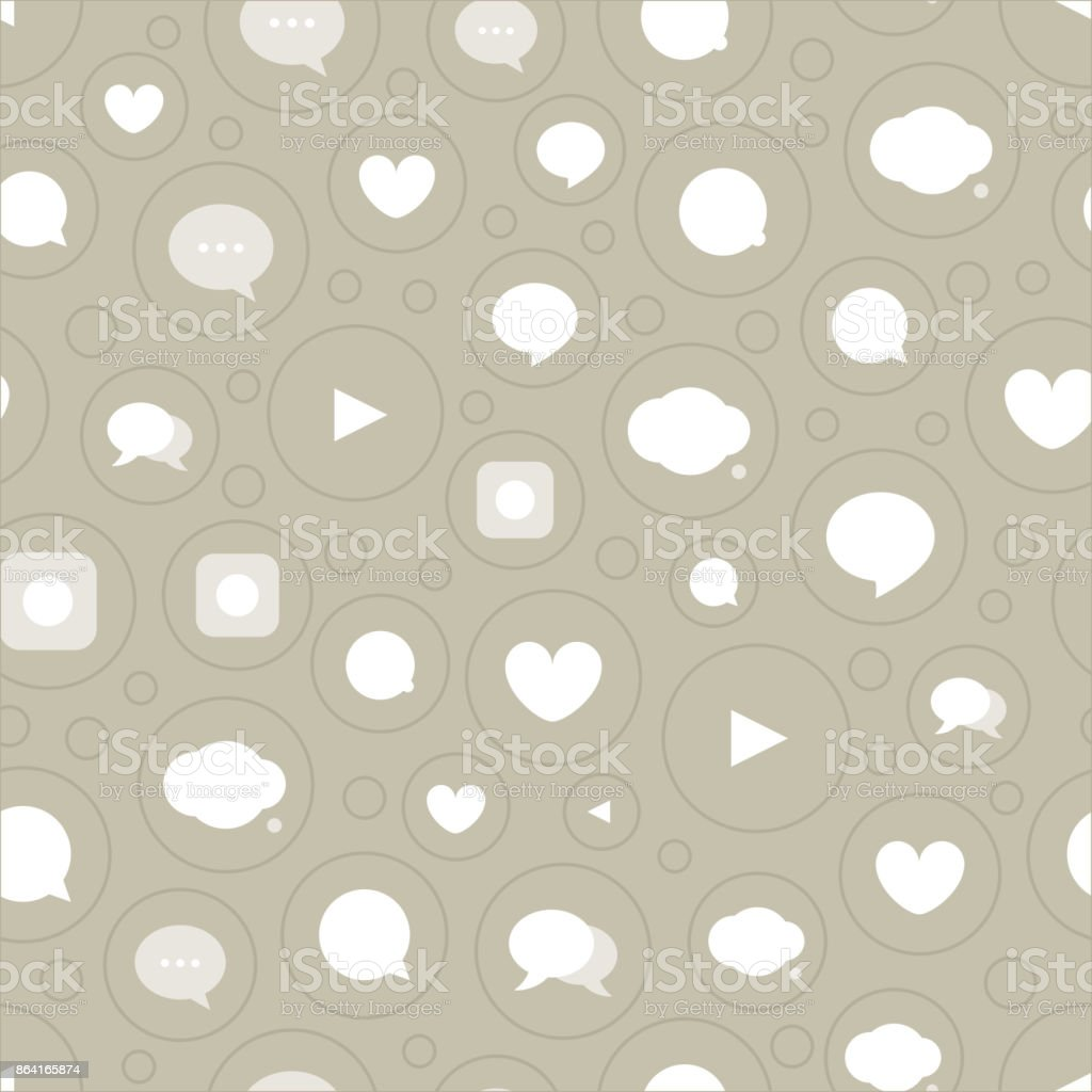Different color simple communication seamless pattern royalty-free different color simple communication seamless pattern stock vector art & more images of applying