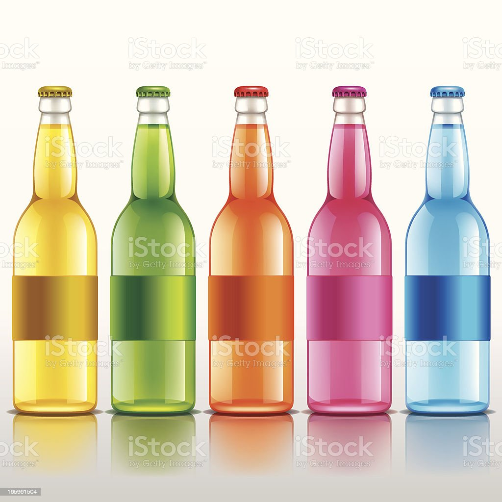Different colored soda bottles royalty-free different colored soda bottles stock vector art & more images of alcohol