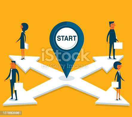 istock Different directions 1278805981