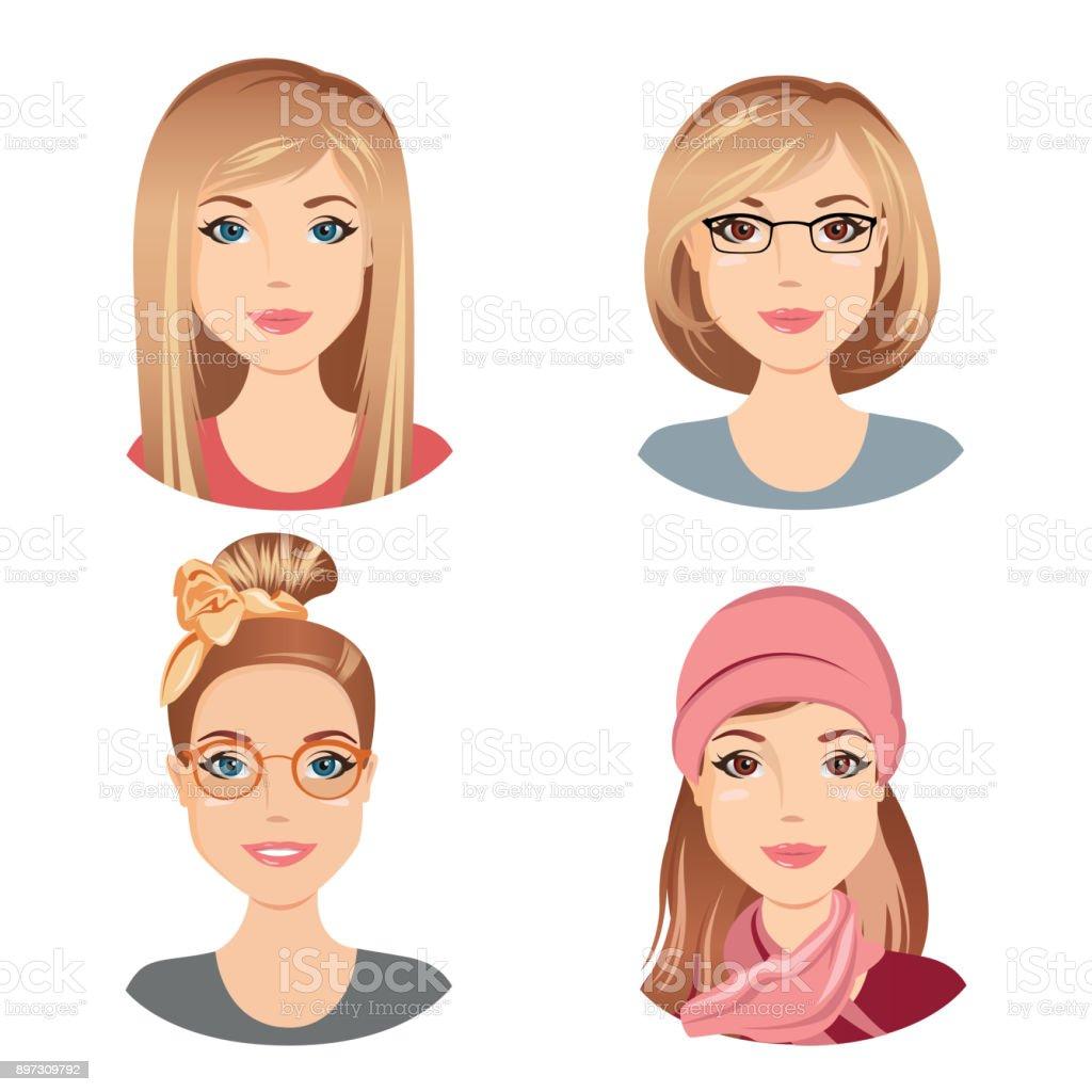 Differentes Coiffures Feminines Pour La Jeune Femme Agee Adulte