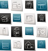 different kind of package icons