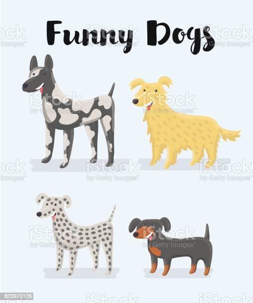 Different kind of puppy dogs illustration vector id820970126?b=1&k=6&m=820970126&s=612x612&h=svhjg6buyt7gjnyz4bhwngsropxbvrggfienllxidjy=