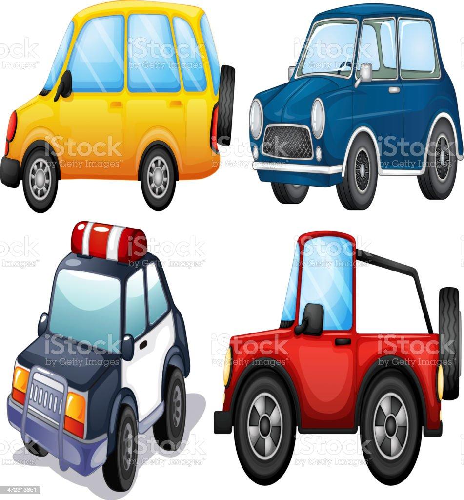 Verschiedene Arten Und Farben Des Autos Stock Vektor Art und mehr ...