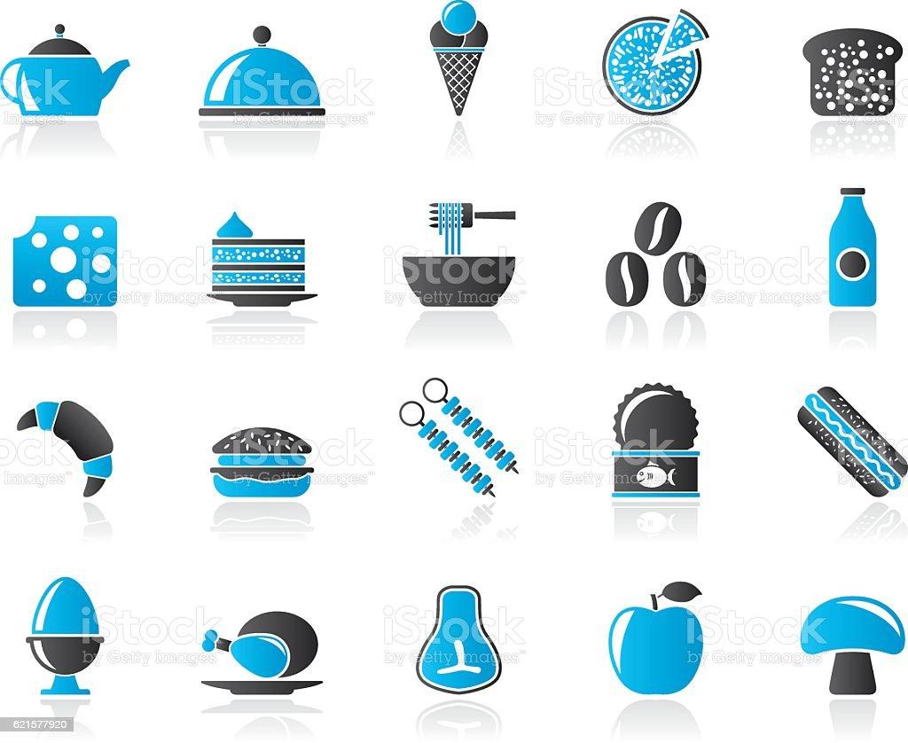 Different king of food and drinks icons 2 different king of food and drinks icons 2 – cliparts vectoriels et plus d'images de affaires libre de droits