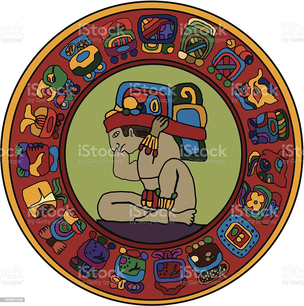 Calendrier Maya Signe.Differents Maya Signe Vecteurs Libres De Droits Et Plus D