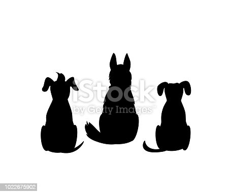 istock different mixed breed dogs backside view silhouettes isolated vector graphic 1022675902