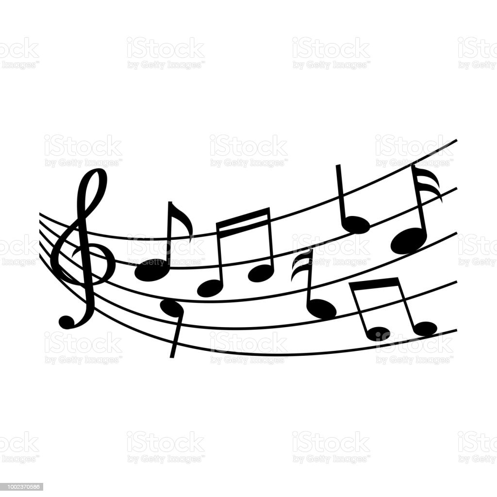 Different Music Notes Vector Illustration Stock Vector Art More