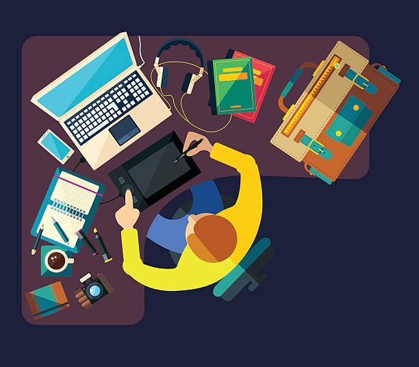 unterschiedlichen berufsgruppen.   bussiness - - küchensystem stock-grafiken, -clipart, -cartoons und -symbole