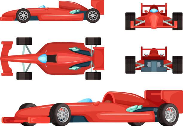 Best Race Car Illustrations Royalty Free Vector Graphics Clip Art