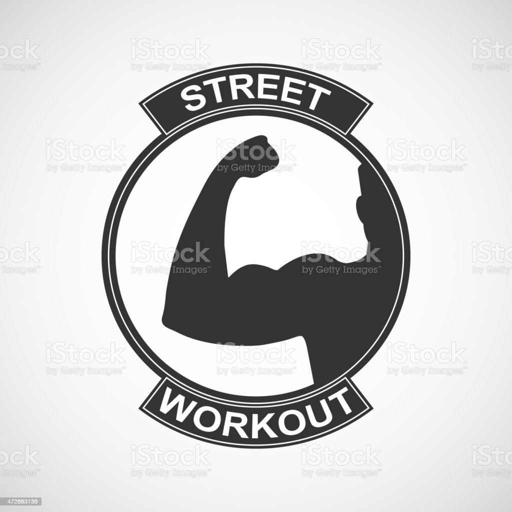 Different sports and street workout logo templates. Vector...
