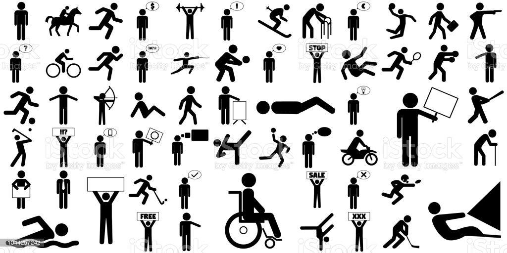 100+ Streckgubbar ideas | stick figures, stick figure drawing, sketch notes