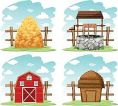 Different things in the farm
