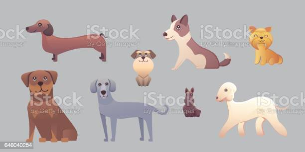 Different type of cartoon dogs happy dog set vector illustration vector id646040254?b=1&k=6&m=646040254&s=612x612&h=i8sguqf1 dmfpabvp ip4l mjejcfvifbhfu8p5yn4g=