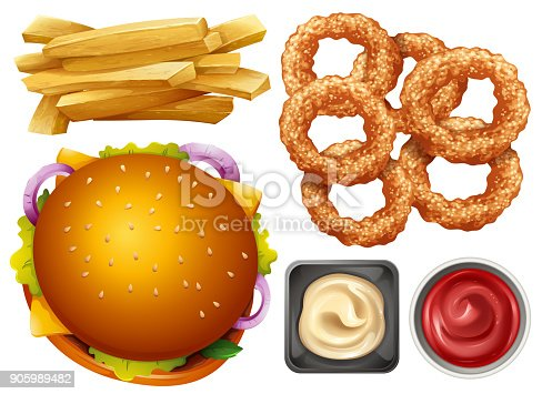 Onion Rings Png - Onion Ring Clipart (#321620) - PikPng