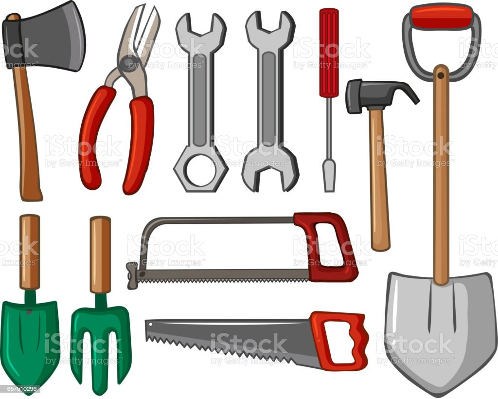 Different Types Of Hand Tools Stock Vector Art More