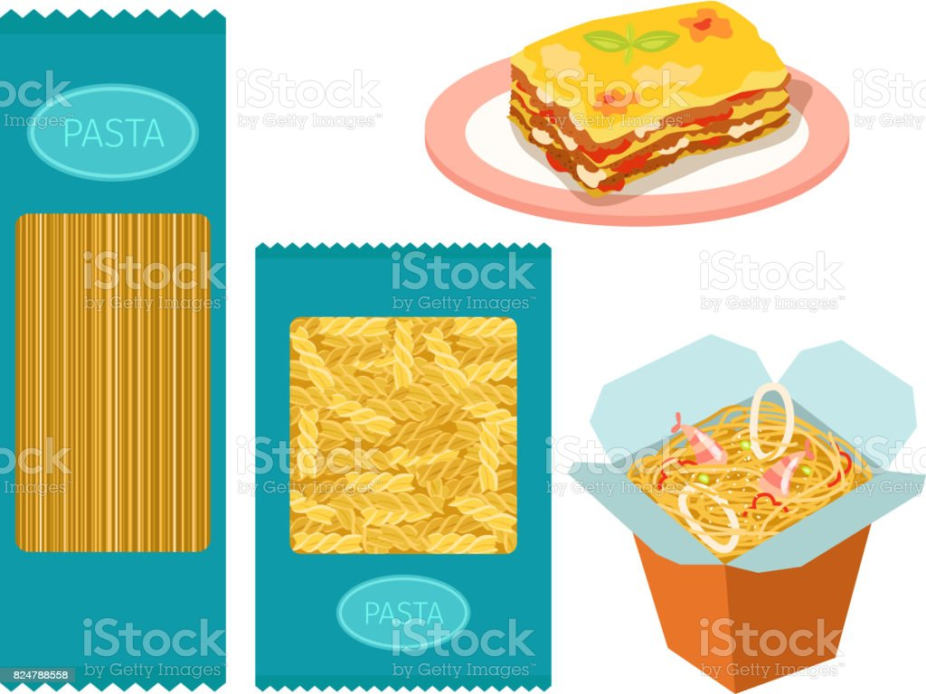 Different Types Of Pasta Whole Wheat Corn Rice Noodles