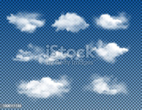 vector set isolated on transparent background
