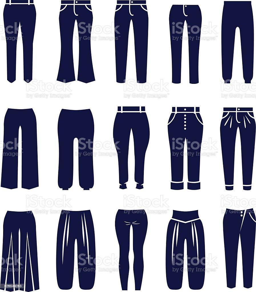 Différents Types De Pantalons Pour Femme