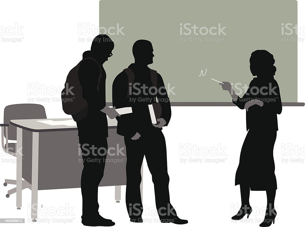 Difficult Point royalty-free stock vector art