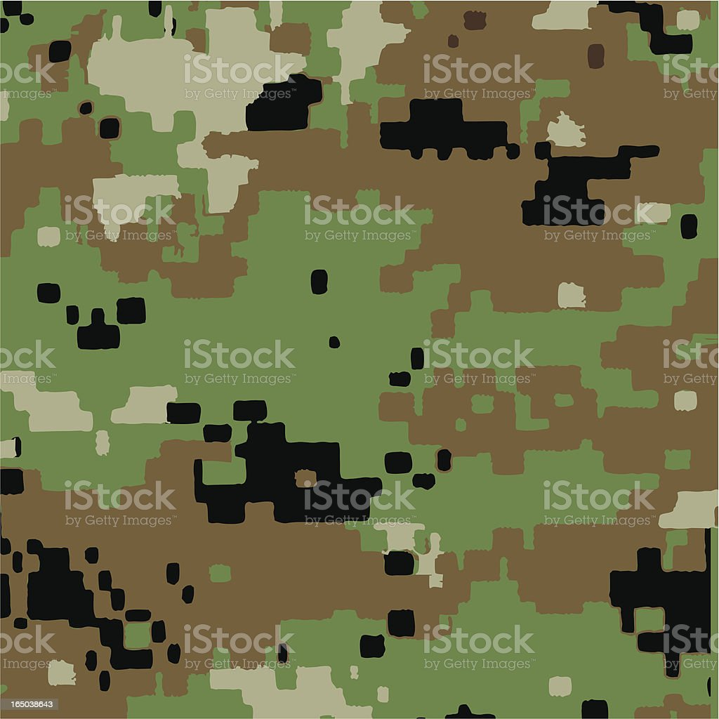 Digi Green Camouflage Pattern royalty-free digi green camouflage pattern stock vector art & more images of africa