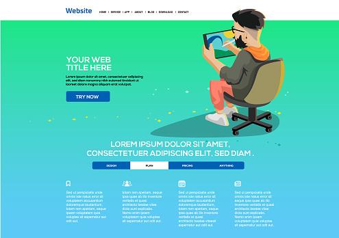 Digital Artist website template