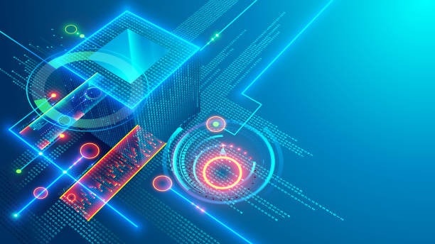 Digital background. Cube or box consists matrix of digits. Block chain of abstract finance data, business graphic. Blockchain fintech technology and mining cryptocurrency conceptual internet banner. Digital background. Cube or box consists matrix of digits. Block chain of abstract finance data, business graphic. Blockchain fintech technology and mining cryptocurrency conceptual internet banner. banking backgrounds stock illustrations