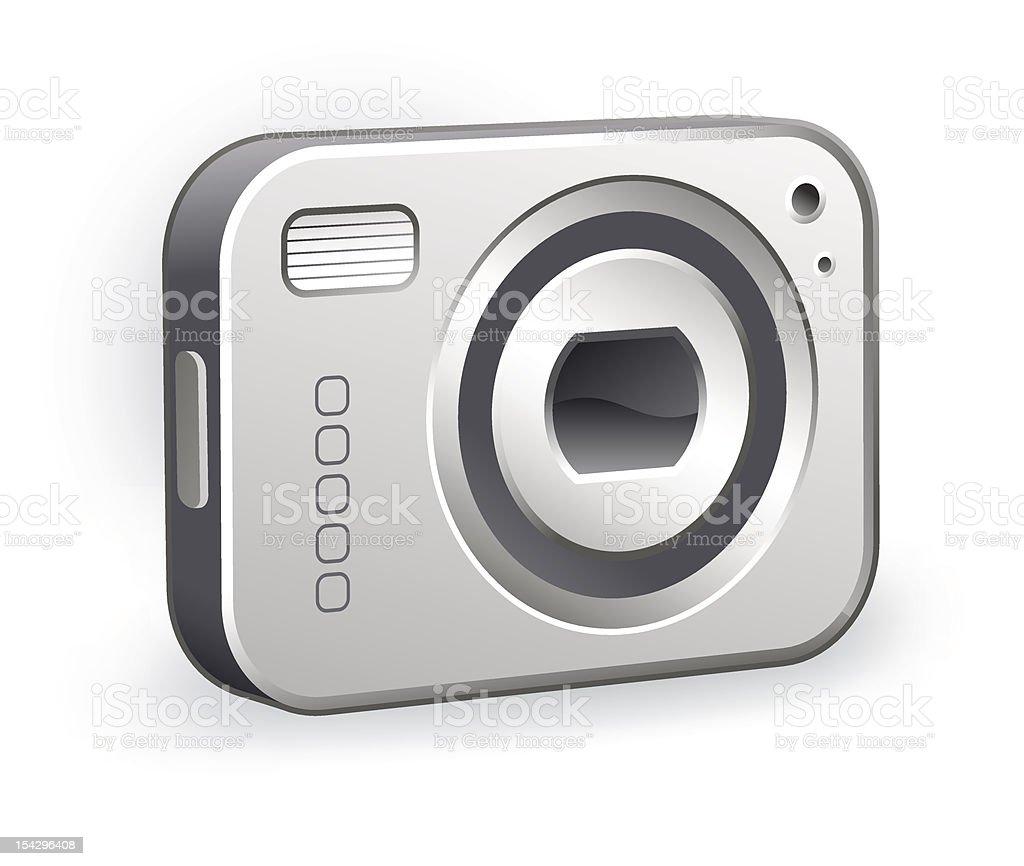 digital camera royalty-free digital camera stock vector art & more images of camera - photographic equipment