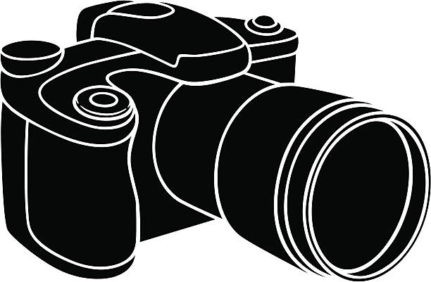 Royalty Free Telephoto Lens Clip Art, Vector Images ...