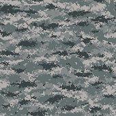 Digital Camouflage (MARPAT Style) - Seamless Tile