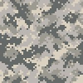 Universal seamless camouflage. Seamless pattern. Easy to change color