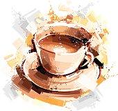 istock digital coffee sketch 157266825