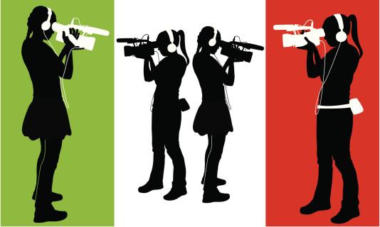 Digital Filmmakers ( Vector )