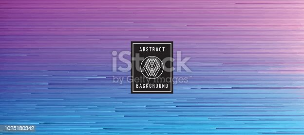 digital glitch art blue magenta background graphic element stock vector art more images of 1990 1999 1025180342 istock