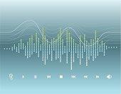 Digital Graphic - Sound Wave