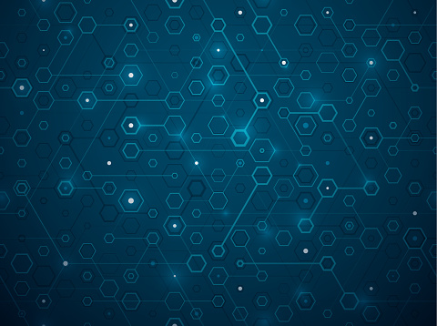 digital hexagonal network