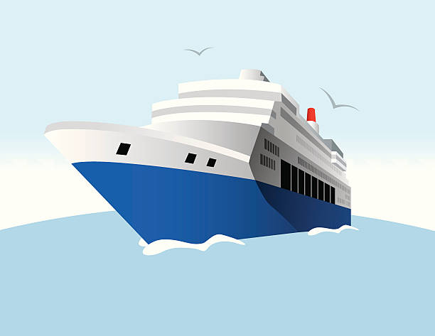 Best Cruise Ship Fun Illustrations, Royalty-Free Vector ...