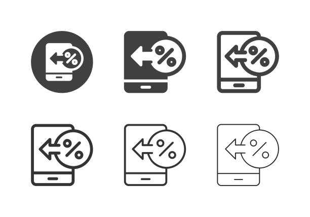 Digital Interest Icons - Multi Series vector art illustration