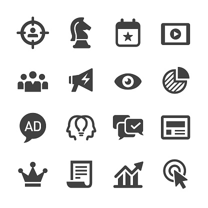 Digital Marketing Icon - Acme Series