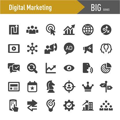 Digital Marketing Icon - Big Series