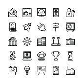Digital Marketing Line Vector Icons 7