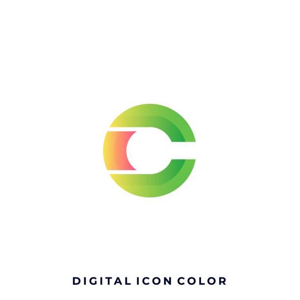 bildbanksillustrationer, clip art samt tecknat material och ikoner med digital media chat färgglada illustration vektor designmall - social media post template