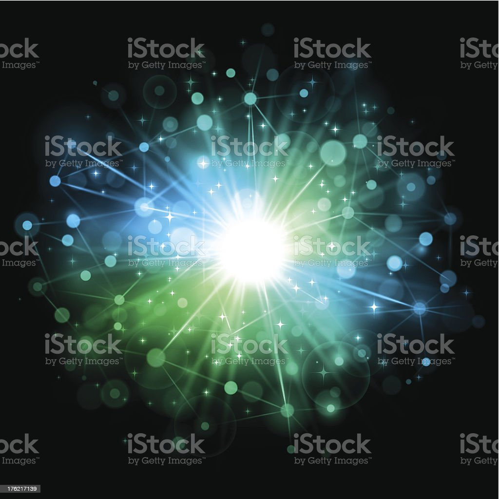 Digital network background royalty-free stock vector art